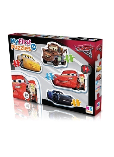 Ks Games  Cars My First Puzzle 4in1 CR10304 Renkli